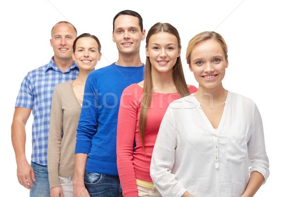 Persone gruppo famiglia genere persone gruppo uomini Foto d'archivio © dolgachov