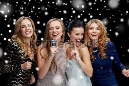 Stok fotoğraf: Mutlu · dans · gece · klübü · disko · parti