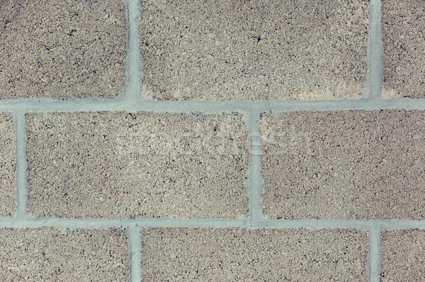 gray brick wall backdrop Stock photo © dolgachov
