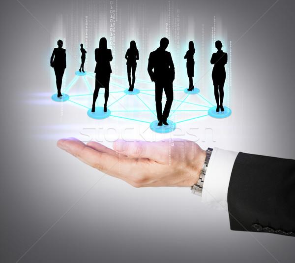 Zdjęcia stock: Strony · społecznej · business · network · działalności