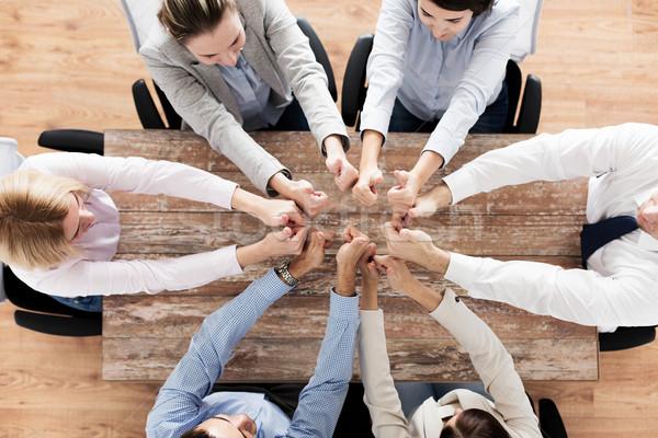 Equipe de negócios pessoas de negócios trabalho em equipe Foto stock © dolgachov