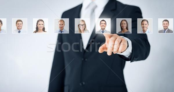 Emberi erőforrások karrier toborzás vezetőség siker Stock fotó © dolgachov