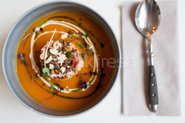 растительное суп чаши продовольствие новых Сток-фото © dolgachov