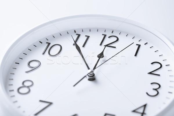 wall clock Stock photo © dolgachov