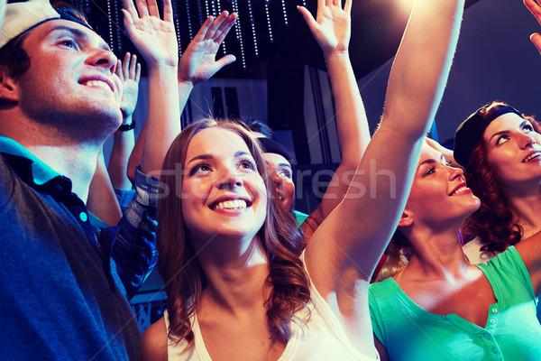 笑みを浮かべて 友達 コンサート クラブ パーティ 休日 ストックフォト © dolgachov