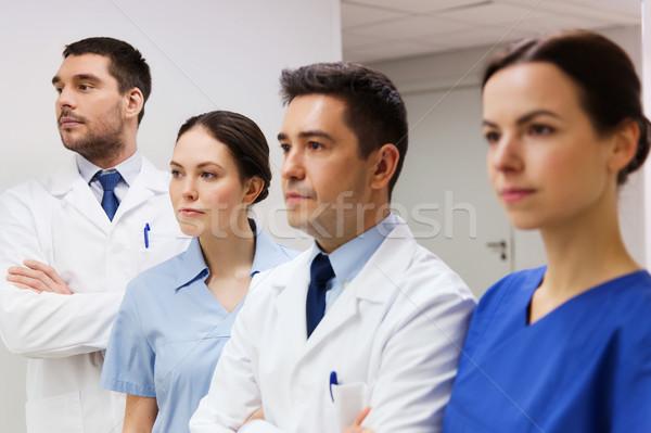 Gruppo medici ospedale clinica professione persone Foto d'archivio © dolgachov
