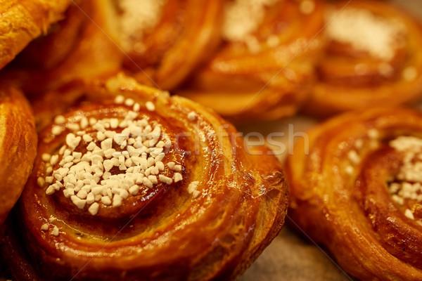 Boulangerie épicerie alimentaire bonbons Photo stock © dolgachov