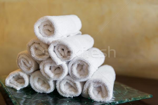 Сток-фото: ванны · отель · Spa · роскошь