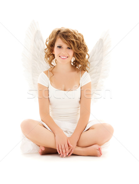 angel Stock photo © dolgachov