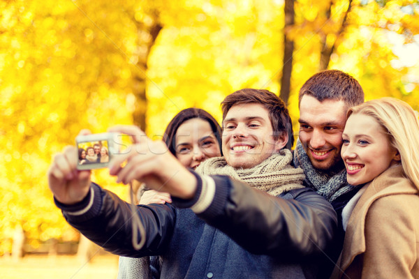 Groep glimlachend mannen vrouwen relatie Stockfoto © dolgachov