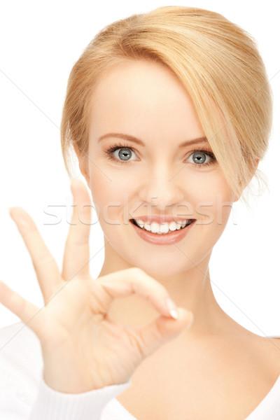 十代の少女 にログイン 明るい 画像 ストックフォト © dolgachov