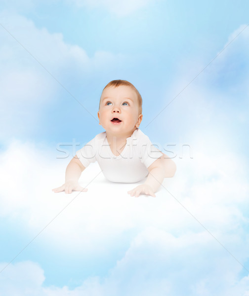 Singolare baby bambino Foto d'archivio © dolgachov