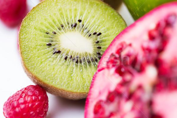 зрелый киви другой плодов Сток-фото © dolgachov