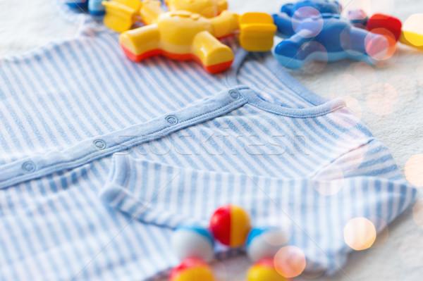 ребенка греметь одежды объект Сток-фото © dolgachov