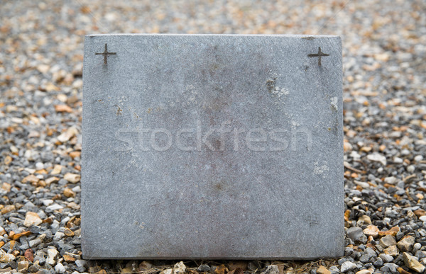 old catholic cemetery gravestone Stock photo © dolgachov