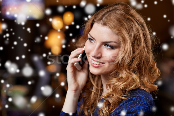 смартфон ночной клуб Бар люди ночной Сток-фото © dolgachov