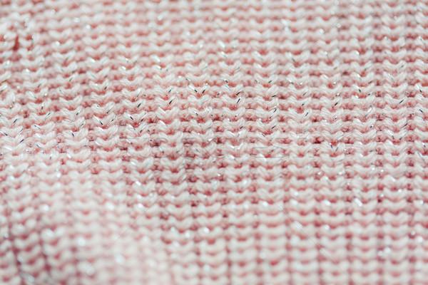 Trykotowy pozycja robótki włókienniczych obiektu Zdjęcia stock © dolgachov