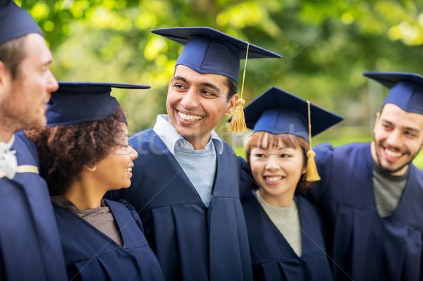 счастливым студентов бакалавров образование окончания люди Сток-фото © dolgachov
