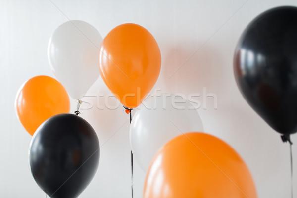 Lucht ballonnen halloween verjaardagsfeest vakantie decoratie Stockfoto © dolgachov