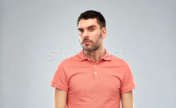 человека мышления серый люди бизнесмен Сток-фото © dolgachov