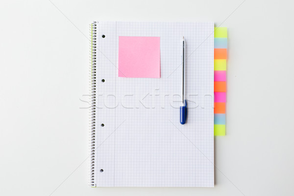 Organisator pen kantoor tabel business Stockfoto © dolgachov