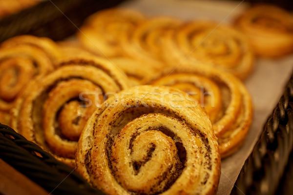 Padaria mercearia comida doces Foto stock © dolgachov