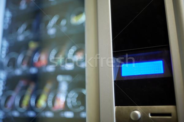 торговый автомат отображения продавать технологий потребление деньги Сток-фото © dolgachov