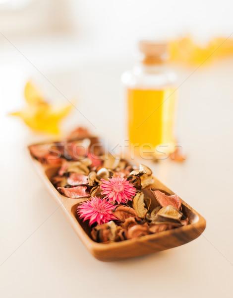 Flores estância termal saúde beleza Foto stock © dolgachov