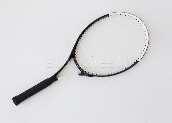 close up of tennis racket Stock photo © dolgachov