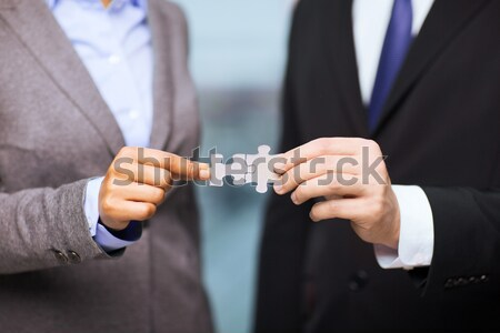 Stock photo: close up of addict buying dose from drug dealer