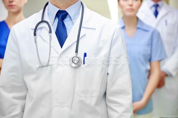 Artsen ziekenhuis kliniek beroep mensen Stockfoto © dolgachov