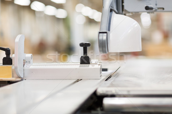 Stockfoto: Paneel · zag · workshop · productie · industrie · fabriek