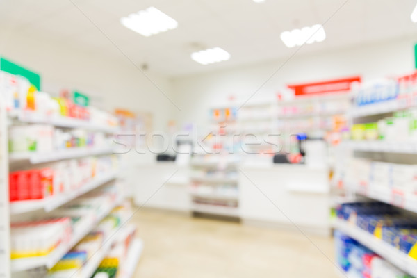 Farmacia farmacia habitación medicina borroso Foto stock © dolgachov