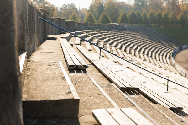 Stadyum spor mimari yaz Stok fotoğraf © dolgachov