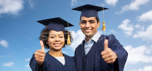 幸せ 学生 独身 教育 ストックフォト © dolgachov