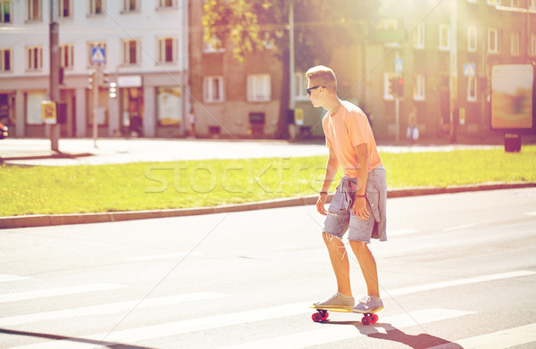 スケート 市 夏 休日 ストックフォト © dolgachov