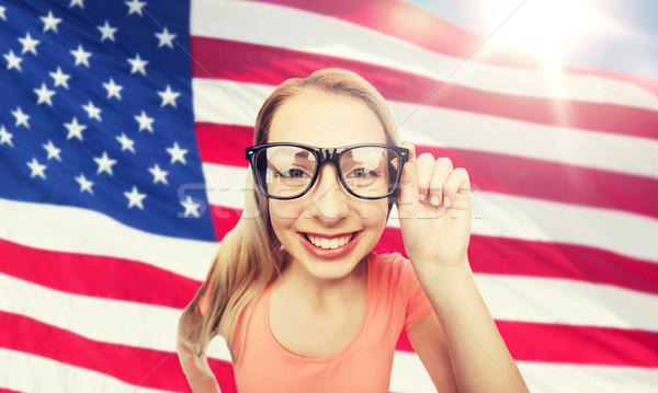 Feliz educación personas Foto stock © dolgachov