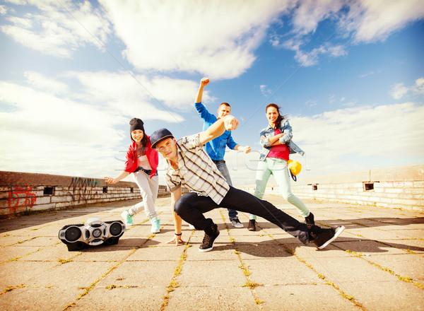 グループ 青少年 ダンス スポーツ 都市 文化 ストックフォト © dolgachov
