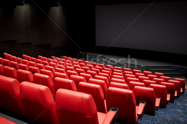 Film théâtre cinéma vide auditorium divertissement Photo stock © dolgachov