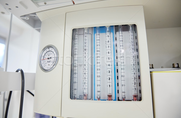 anesthesia machine at hospital operating room Stock photo © dolgachov