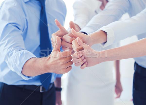 бизнес-команды служба успех победа Сток-фото © dolgachov