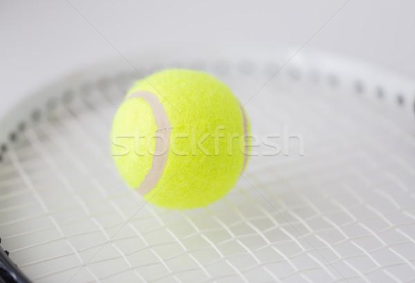 Racchetta da tennis palla sport fitness attrezzature sportive Foto d'archivio © dolgachov