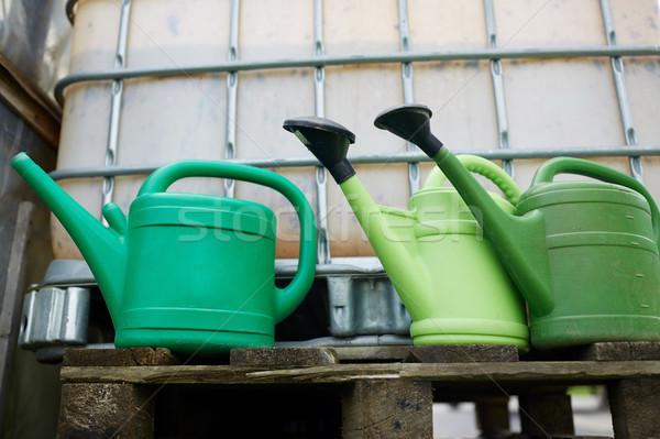水まき ファーム 水 タンク ガーデニング ストックフォト © dolgachov