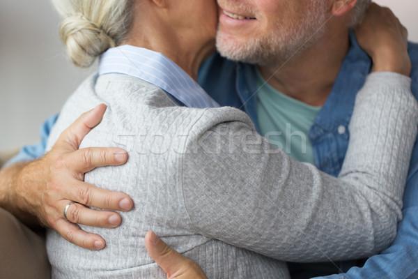 Getrouwd relaties huwelijk Stockfoto © dolgachov