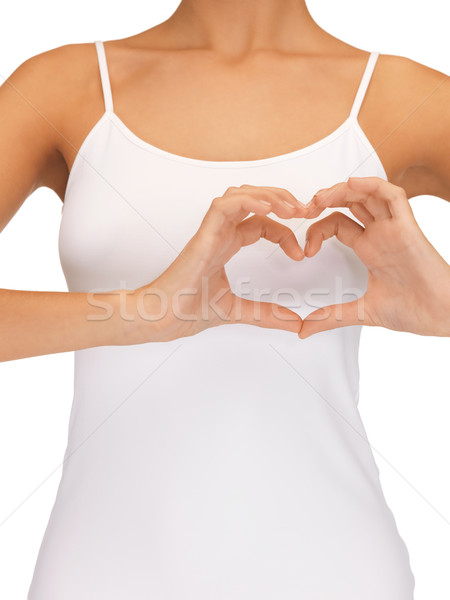 Form Herz hellen Bild Stock foto © dolgachov