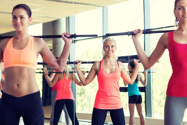 Grupo mujeres bares gimnasio fitness deporte for Deporte gym