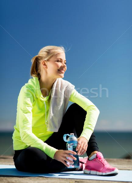ストックフォト: 女性 · スポーツ · 屋外 · スポーツ · ライフスタイル