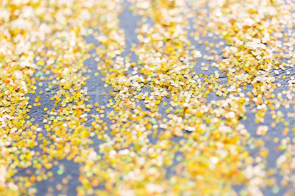golden glitter or yellow sequins background Stock photo © dolgachov