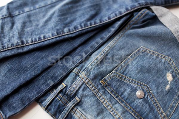 Kot pantolon kot cep elbise Stok fotoğraf © dolgachov