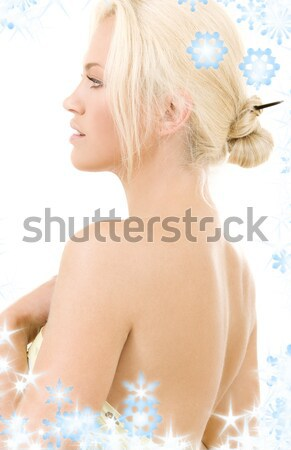 стороны груди воды Постоянный Сток-фото © dolgachov